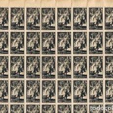 Sellos: [A0184] ESPAÑA 1938; PLIEGO TRABAJADORES DE SAGUNTO, 45 CS. (MNH). Lote 262059910
