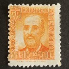 Sellos: ESPAÑA N°740 MNG (*) SIN GOMA (FOTOGRAFÍA REAL). Lote 262347020