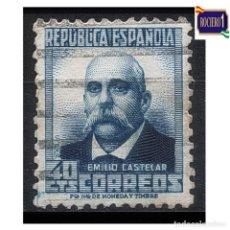 Sellos: ESPAÑA 1932. EDIFIL 670. PERSONAJES Y MONUMENTOS. USADO. Lote 262616130