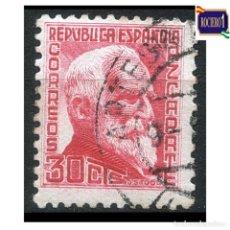 Sellos: ESPAÑA 1933-35. EDIFIL 686. PERSONAJES. USADO. Lote 262622570