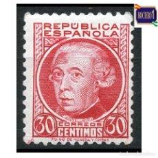 Sellos: ESPAÑA 1933-35. EDIFIL 687. PERSONAJES -SIN FIJASELLO- NUEVO** MNH. Lote 262623060