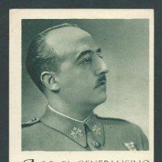 Sellos: ANTIGUA POSTAL GENERALISIMO NAVIDAD AÑO 1939 FRENTES Y HOSPITALES. Lote 262952320