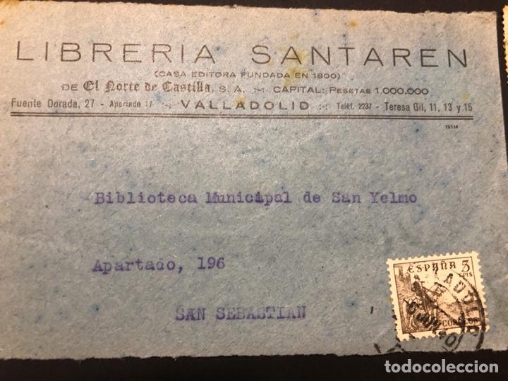 Sellos: Lote sellos y sobre - Cid e Isabel 1937 - 40 - Foto 2 - 265374139