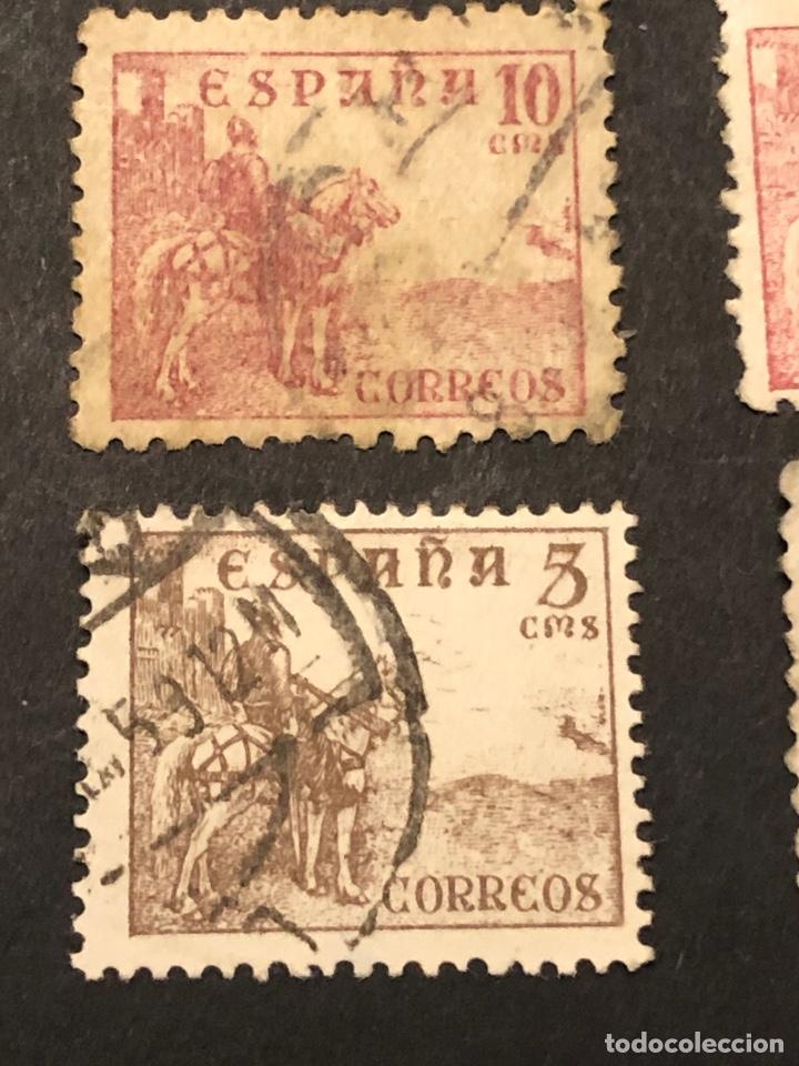 Sellos: Lote sellos y sobre - Cid e Isabel 1937 - 40 - Foto 11 - 265374139