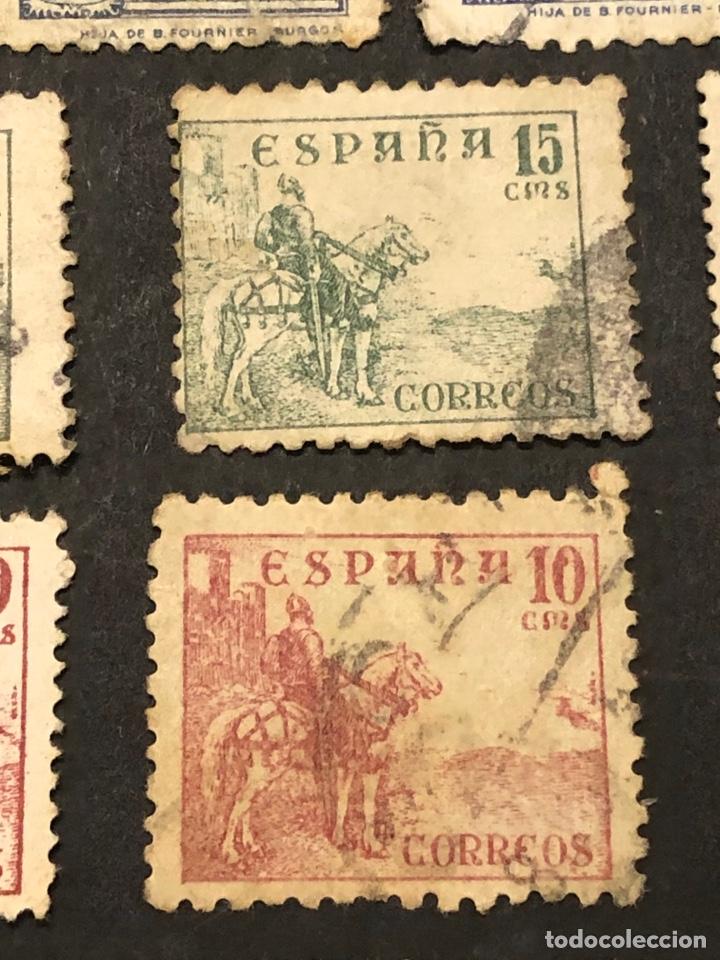 Sellos: Lote sellos y sobre - Cid e Isabel 1937 - 40 - Foto 12 - 265374139