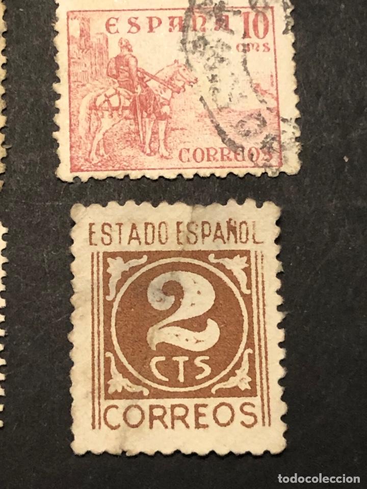 Sellos: Lote sellos y sobre - Cid e Isabel 1937 - 40 - Foto 14 - 265374139