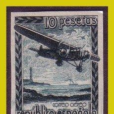 Sellos: 1938 AVIÓN EN VUELO, EDIFIL Nº NE38 * * LUJO. Lote 265991373