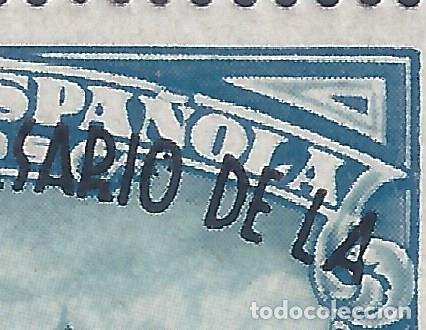 Sellos: EDIFIL 789 II ANIVERSARIO DE LA DEFENSA DE MADRID 1938 (VARIEDADES EN LA SOBRECARGA). LUJO. MNH ** - Foto 3 - 266228588
