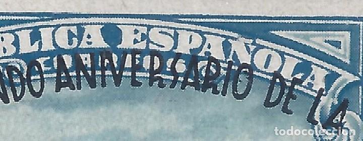 Sellos: EDIFIL 789 II ANIVERSARIO DE LA DEFENSA DE MADRID 1938 (VARIEDADES EN LA SOBRECARGA). LUJO. MNH ** - Foto 3 - 266234553