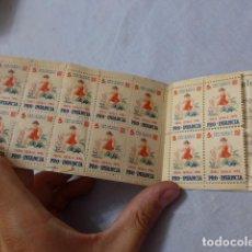 Sellos: * ANTIGUO LIBRITO DE SELLOS VIÑETAS DE SEGELL CATALA 1935 PRO-INFANCIA. ORIGINALES. ZX. Lote 266507218