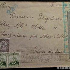 Sellos: BARCELONA 1938 CENSURA MILITARFROANTL REPÚBLICA ESPAÑOLA. Lote 267501569