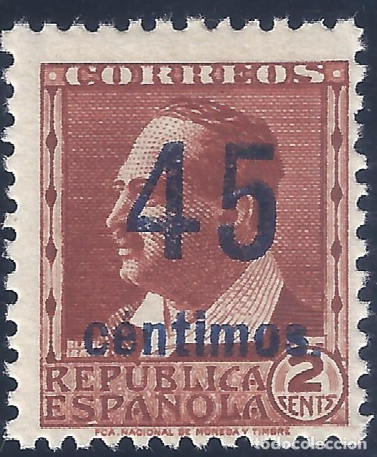 EDIFIL NE 28 1938. V. BLASCO IBÁÑEZ. NO EXPENDIDO. VALOR CATÁLOGO: 120 €. MNH ** (SALIDA: 0,01 €). (Sellos - España - II República de 1.931 a 1.939 - Nuevos)