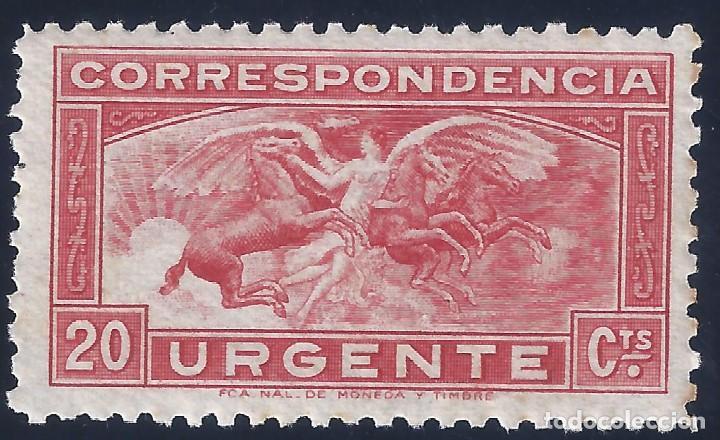 EDIFIL 679. ÁNGEL Y CABALLOS 1933. MNH** (Sellos - España - II República de 1.931 a 1.939 - Nuevos)