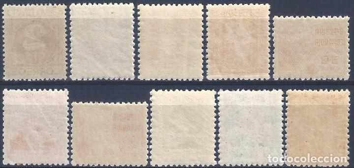 Sellos: EDIFIL 731-740 CIFRA Y PERSONAJES 1936-1938 (S.COMPLETA). CENTRADO DE LUJO. V.CATÁLOGO: 63 €. MNH ** - Foto 2 - 268322044