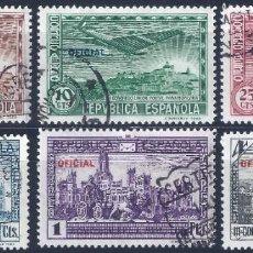 Sellos: EDIFIL 630-635 III CONGRESO DE LA UNIÓN POSTAL PANAMERICANA 1931 (COMPLETA). HAB. OFICIAL.. Lote 268405314
