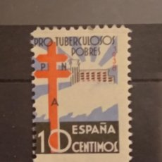 Sellos: AÑO 1938 PRO TUBERCULOSOS SELLO NUEVO EDIFIL 866 VALOR DE CATALOGO 18,00 EUROS. Lote 268868524