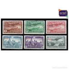 Sellos: ESPAÑA 1931. EDIFIL 630/35 635. UNIÓN POSTAL PANAMERICANA HABILITADOS. NUEVO* MH. Lote 268889034