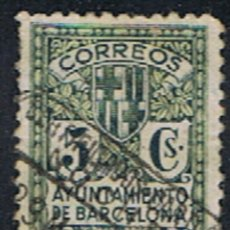 Sellos: ESPAÑA // BARCELONA // EDIFIL 9 // 1932-34 ... USADO. Lote 268989884