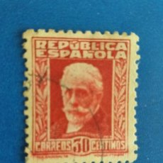Sellos: ESPAÑA 1932. SELLO EDIFIL 659. PERSONAJES. PABLO IGLESIAS.. Lote 269115833