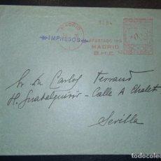 Sellos: 1935.- MADRID A SEVILLA. Lote 269704143