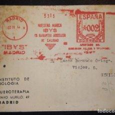 Sellos: 1944.- MADRID A SEVILLA.. Lote 269814113