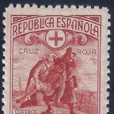 Sellos: EDIFIL 767 CRUZ ROJA ESPAÑOLA 1938. MH *. Lote 270171818