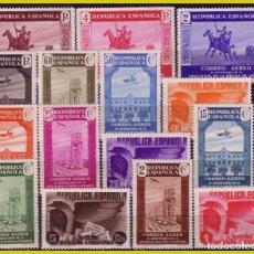 Sellos: 1936 XL ANIVº ASOCIACIÓN DE PRENSA, EDIFIL Nº 711 A 725 * * COMPLETA. Lote 277088083