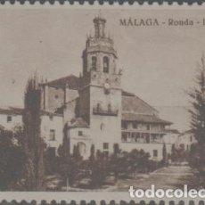 Sellos: LOTE X-SELLO VIÑETA CROMO NUEVO CON GOMA MALAGA GALLETAS NANUK AÑOS 30. Lote 277118833