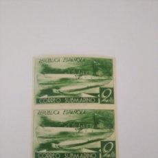 Sellos: ESPAÑA - 1938 - SUBMARINO - BLOQUE 2 - EDIFIL 776CCCS - MNH VALOR 184 €. Lote 277119148