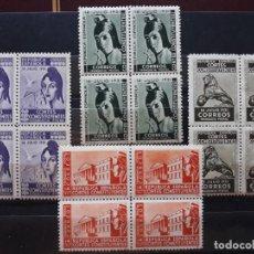 Sellos: ESPAÑA 1931 FRANQUICIA POSTAL EDIFIL 19/22 BLOQUE DE CUATRO REPÚBLICA ESPAÑOLA CORTES CONSTITUYENTES. Lote 277258268