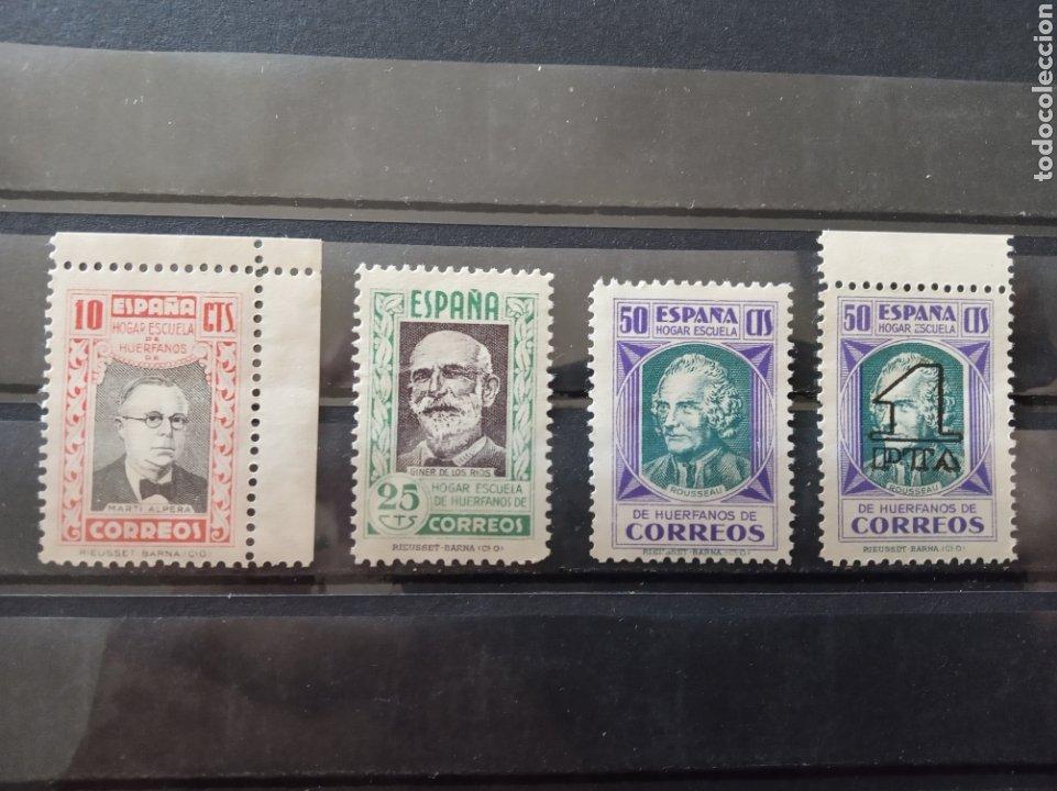 ESPAÑA. HUÉRFANOS CORREOS. ** (Sellos - España - II República de 1.931 a 1.939 - Nuevos)