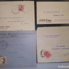 Sellos: HISTORIA POSTAL. LOTE DE 4 FRONTALES.. Lote 278699953