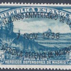 Sellos: EDIFIL 789 II ANIVERSARIO DE LA DEFENSA DE MADRID 1938 (VARIEDADES...A DE LA ROTA). MNG.. Lote 278793183