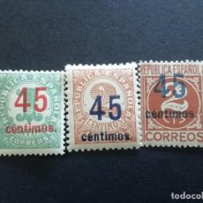 Sellos: 1938 CIFRAS SERIE. Lote 279328743