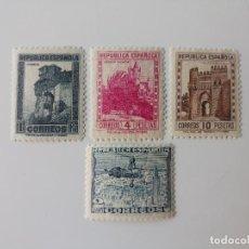 Sellos: MONUMENTOS Y AUTOGIRO EDIFIL 770/772 DEL AÑO 1938 EN NUEVO **. Lote 279355763