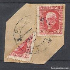 Sellos: PABLO IGLESIAS BISECTADO FECHADOR ROA BURGOS. Lote 279378268