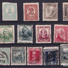Sellos: SELLOS ESPAÑA OFERTA SELLOS AÑO 1935 PERSONAJES EN USADO. Lote 284758968