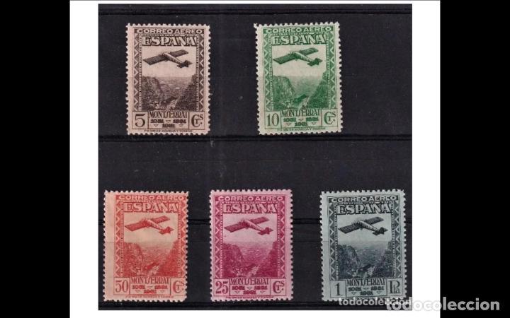 ESPAÑA- 1931 - II REPUBLICA - EDIFIL 650/654 - SERIE COMPLETA - MNH** - NUEVOS - VALOR CATALOGO 143€ (Sellos - España - II República de 1.931 a 1.939 - Nuevos)