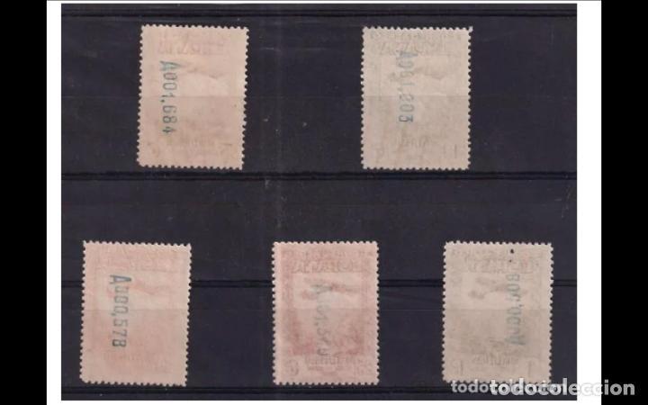 Sellos: ESPAÑA- 1931 - II REPUBLICA - EDIFIL 650/654 - SERIE COMPLETA - MNH** - NUEVOS - VALOR CATALOGO 143€ - Foto 2 - 285152853