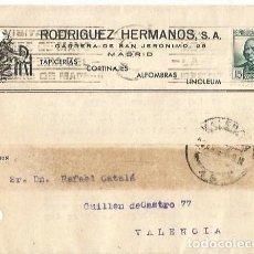 Sellos: TARJETA POSTAL RODRÍGUEZ HERMANOS. REPÚBLICA ESPAÑOLA. CONCEPCIÓN ARENAL 15CTS. VALENCIA 1935. Lote 287346028