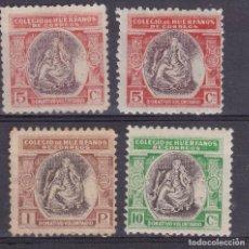 Timbres: BB23-BENÉFICOS PRO HUÉFANOS CORREOS B9/B11. Lote 287406808