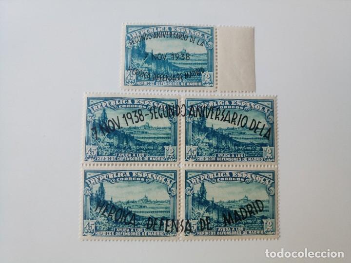 REPUBLICA ESPAÑOLA SERIE COMPLETA DEL AÑO 1938 EDIFIL 789/790 EN NUEVO** (Sellos - España - II República de 1.931 a 1.939 - Nuevos)