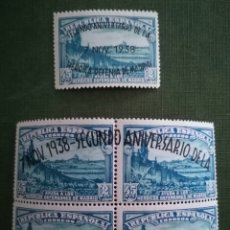 Sellos: ESPAÑA 1938 - II ANIVERSARIO DE LA DEFENSA DE MADRID - EDIFIL 789/790 - NUEVOS SIN CHARNELA MNH. Lote 288338218