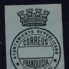 Sellos: ESPAÑA.- FRANQUICIA REPUBLICANA DEL AYUNTAMIENTO DE PUERTO REAL.. Lote 289593928