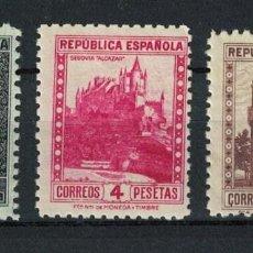 Sellos: TV_003. G-SUB/ SPAIN 1938, MONUMENTOS, EDIFIL 770, 771/72 **. Lote 291314173