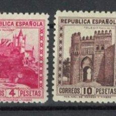 Sellos: TV_003 / SPAIN, MONUMENTOS Y AUTOGIRO, EDIFIL 770 **, 771/72** Y 769**. Lote 291321953