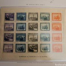 Sellos: SELLO DE ESPAÑA 1938 HOMENAJE AL EJÉRCITO Y A LA MARINA. Lote 293827393