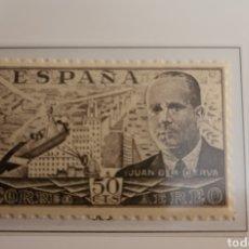 Sellos: SELLO DE ESPAÑA 1939 AUTOGIRO DE LA CIERVA 50 CTS EDIFIL 883. Lote 293861813