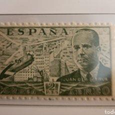 Sellos: SELLO DE ESPAÑA 1939 AUTOGIRO DE LA CIERVA 2 PTS EDIFIL 885. Lote 293861958