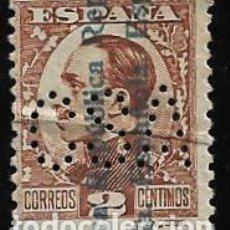 Sellos: II REPUBLICA - ALFONSO XIII SOBRECARGADO - EDIFIL 593 - 1931 - PERFORADO. Lote 293939228